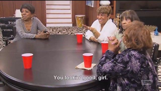 "Old Ladies Point Fingers, Get ""Turnt Up"" on RHOA: Kandi's Wedding"