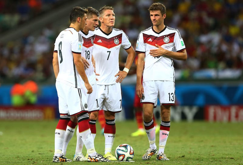 Why Germany Won't Hand The U.S. A Draw