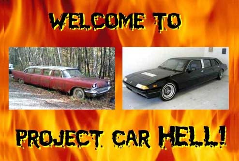 Project Car Hell, Limo Edition: 1957 Chrysler or 1981 Ferrari?