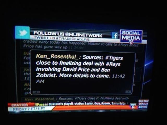 MLB Network Tricked By Fake Ken Rosenthal Twitter Account
