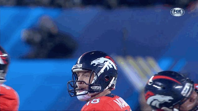Peyton Manning Throws Brutal Pick-Six