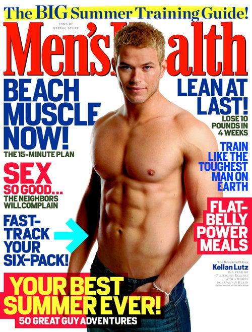 Men's Health Pimps Calvin Klein Jeans On Cover
