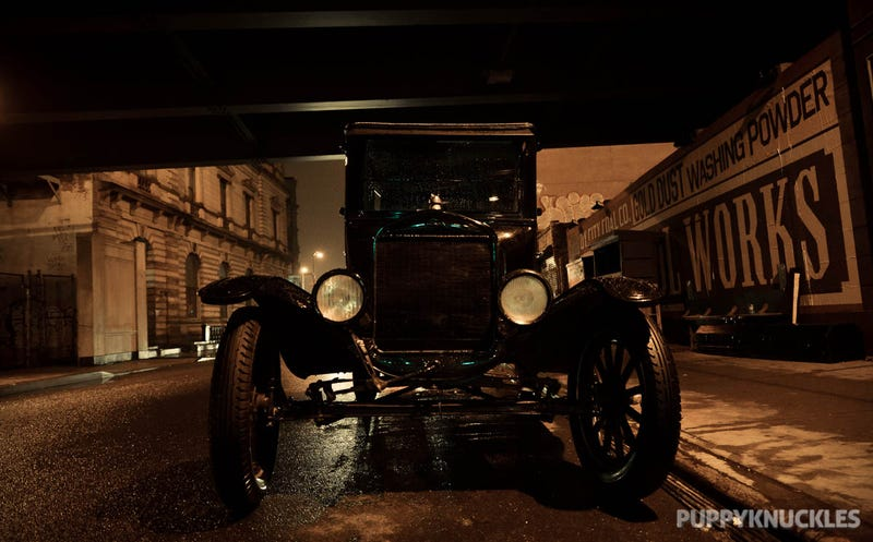 Set Of Boardwalk Empire In W'burg Has A Stealthy Model T On It