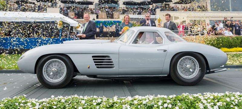 This 1954 Ferrari 375 MM Scaglietti Coupe Won Pebble Beach