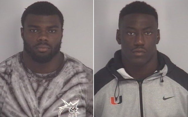 "Cops: Two Miami Players Admit Sex Assault On ""Physically Helpless"" Teen"
