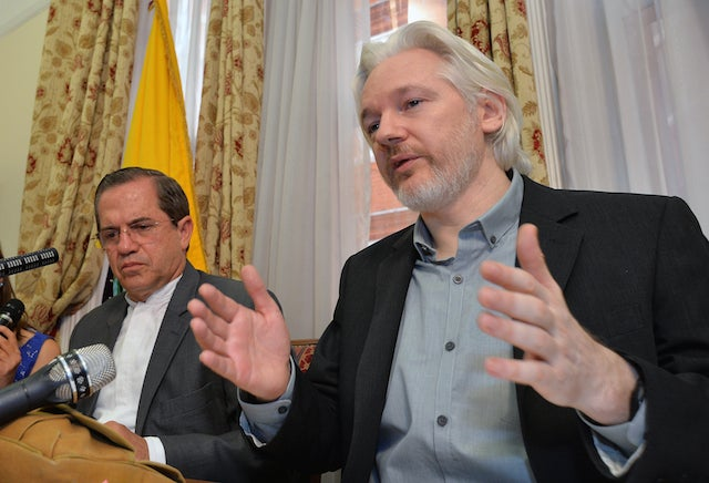 Julian Assange Is Ready to Leave London's Ecuadorian Embassy