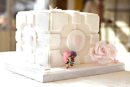 Awesome Gamer Lesbian Wedding