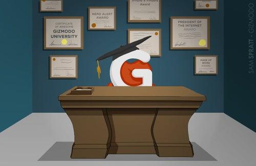 Introducing Professor Gizmodo