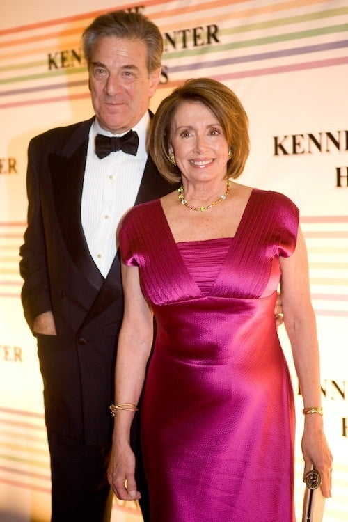 Nancy Pelosi's Husband Picks Out Her Clothes