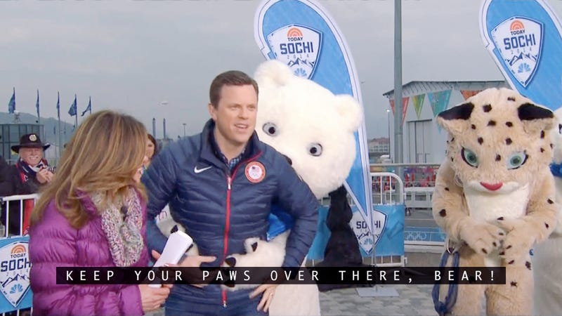 Nightmare Bear Continues Sochi Reign Of Terror