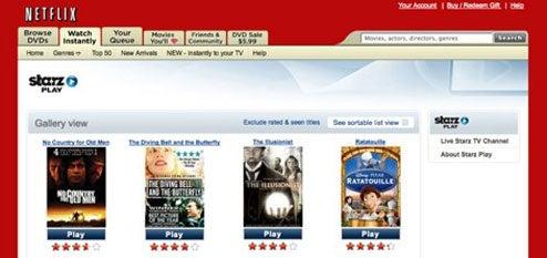 Netflix Engulfs Starz Content, Regurgitates Free to Subscribers