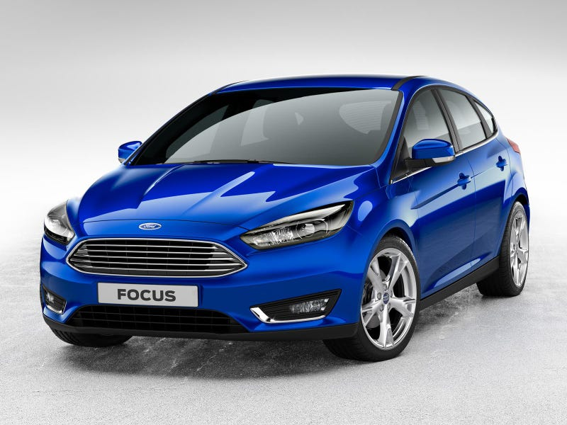 Ford Focus Facelift Forsakes Fishy-ness