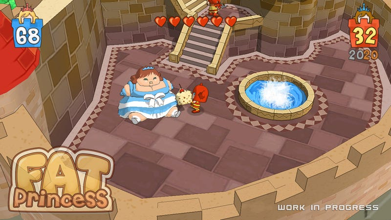 Fat Princess, On PSN, Could Be Our GOTS