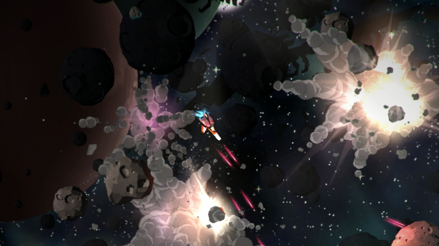 Here's 30 Minutes of the PS4's Awesome-Looking Space Combat Game