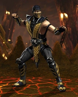 MK vs DC: Heeeeere's Scorpion