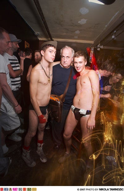 Famous Author Celebrates Birthday With Live Nude Boys @ Home Sweet Home