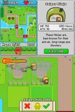 Gallery: Ninjatown DS Screens