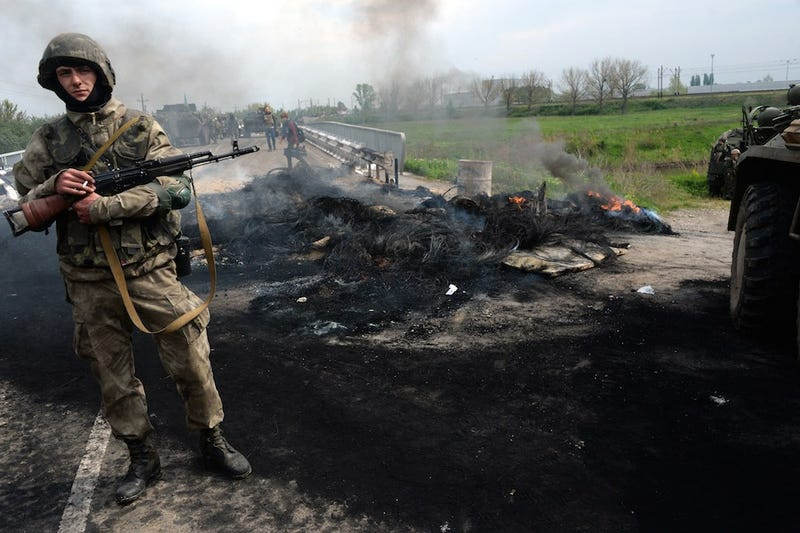Two Ukrainian Helicopters Shot Down by Pro-Russian Forces