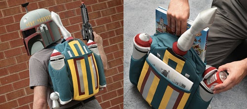 Stuff Bounty (But Not Han Solo) in Boba Fett's Jetpack Backpack