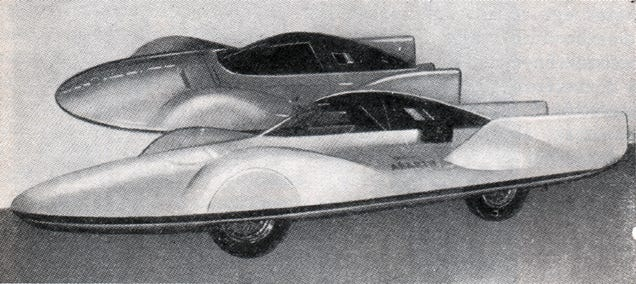 The Blazing Fast Evolution of Land Speed Record Cars