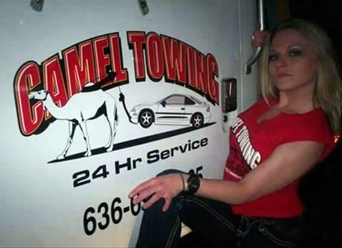 You Stay Classy, Camel Towing