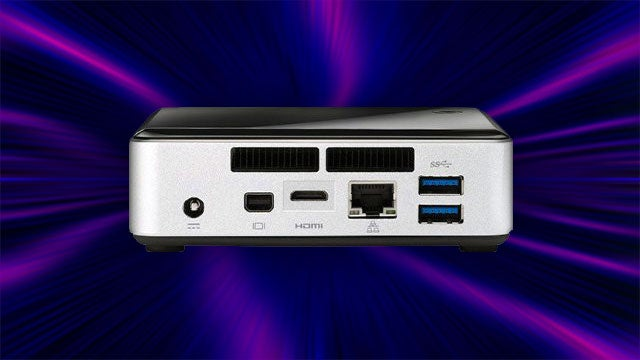 Intel NUC PCs Pack a Ton of Power into a Tiny Little Case