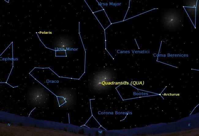 How to catch tonight's Quadrantid meteor shower