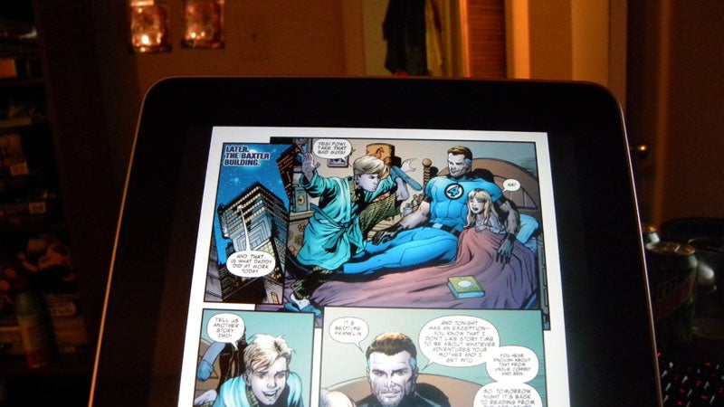 Justifying My iPad Purchase: The Future Of Comic Books Is Now