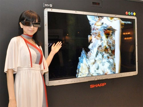 Sharp to Make A 3DTV