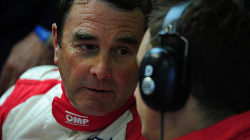 Nigel Mansell Thinks New F1 Regs Are Discriminatory For Some Reason