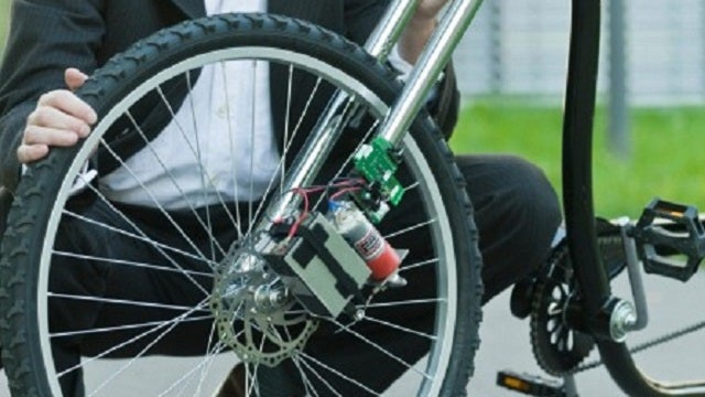 This Wireless Bike Brake Concept Fails Maybe Three Times in a Trillion