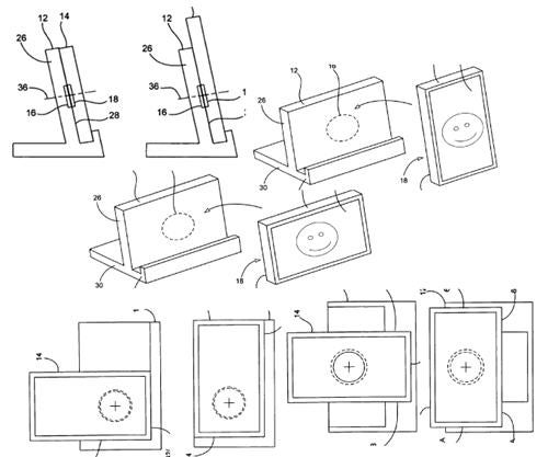 iPhone Docking Station Patent Application Shows Multi-Orientation Design, Possible Table PC Compatibility