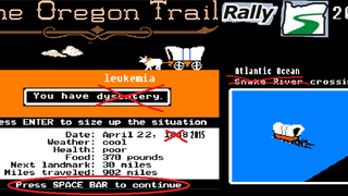 Part 1: Setting Off on the Oregon Trail