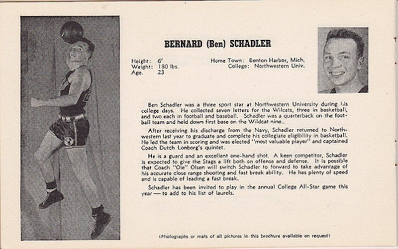 Grandpa Was A Baller: The Weird, Wonderful Tales Of An Early NBA Player, Who Happens To Be My Grandfather