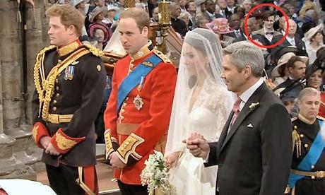 Dr. Who At Royal Wedding