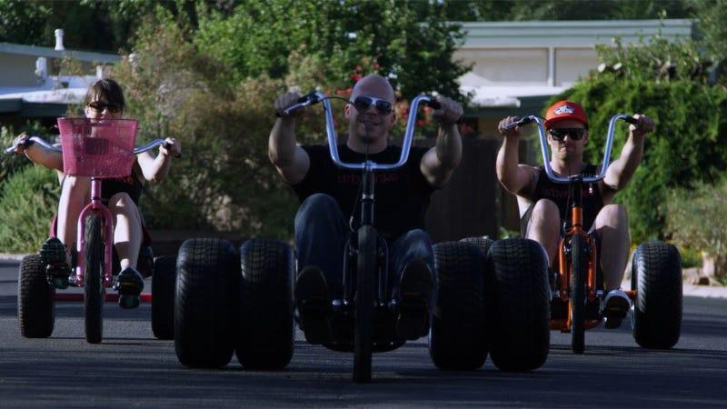 The Urban Trike: Big Wheels for Grown-Ups