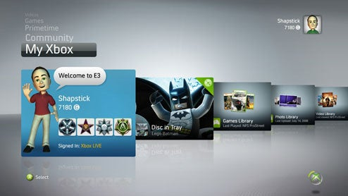 Xbox 360 Fall Dashboard Update Comes in November