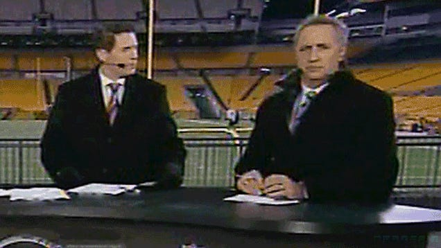 """Steve Young Gamely Tries To Explain That He Was Just Giving Rick Reilly A """"Bro Stare"""""""