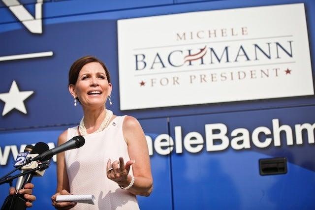 Michele Bachmann Still A Control Freak, Still Female