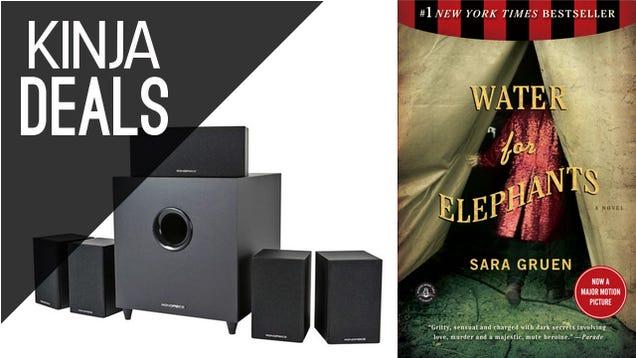 Today's Best Deals: $2 Summer Reading, Surround Sound Starting at $65