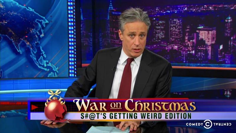 Jon Stewart's Megyn Kelly Takedown Is So, So Good