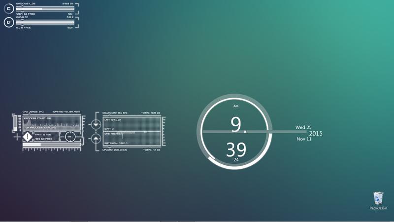 The Simple Monitor Desktop