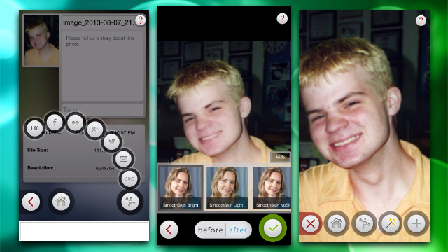 Retouch Portraits on Your iPhone with Beauty Box