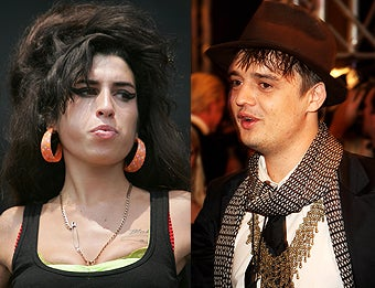 Amy Winehouse & Pete Doherty's New Addiction: Phoning Each Other