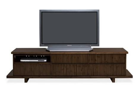 Bamboo Entertainment Center Looks Good, is Functional Too