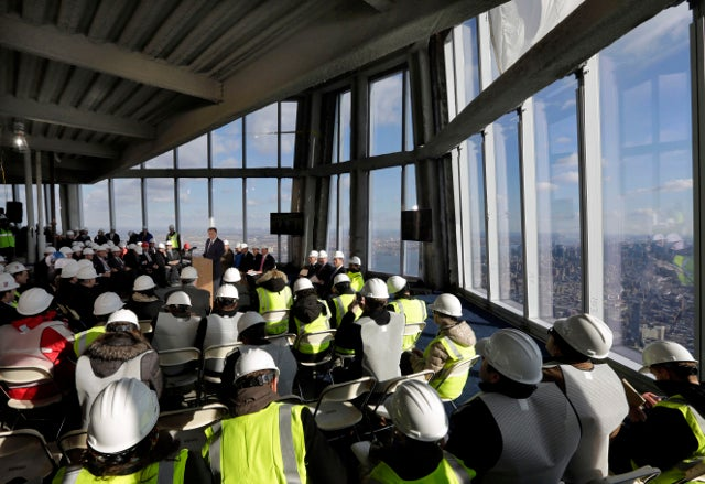 This Is What New York City Looks Like from the Observation Deck at One World Trade Center