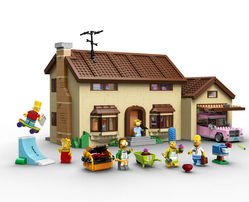 The LEGO Simpson's House Is A Work Of Art