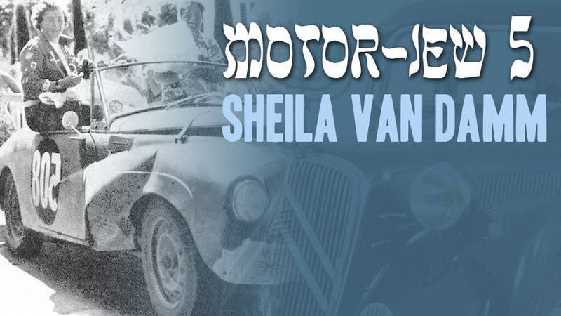 Happy Hanukkah! A Menorah's Worth of Motoring Jews