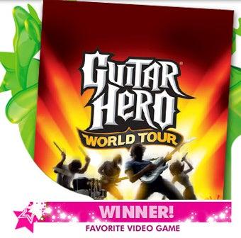 Nickelodeon Kids Choose Guitar Hero Over Rock Band