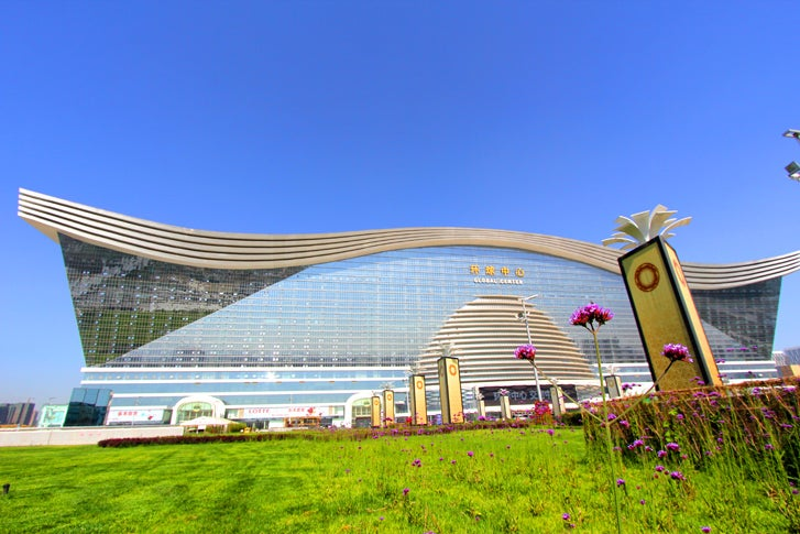 The Largest Building Ever Constructed Has Opened in China